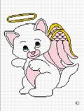 kitten cat angel