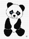 crochet afghan pattern panda bear