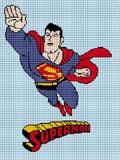 superman flies