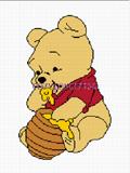 crochet afghan pattern pooh bear