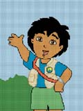 diego dora the explorer friend cousin crochet pattern