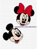 mickey minnie  mouse crochet afghan pattern