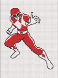 power ranger red  crochet pattern