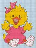 crochet afghan pattern baby duck