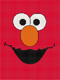 Elmo - AllFreeCrochet.com - Free Crochet Patterns, Crochet