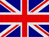 great britain british union jack  flag crochet pattern graph afghan