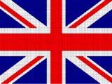 great britain british union jack  flag crochet pattern graph afghan