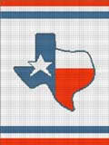 texas state flag crochet pattern graph afghan
