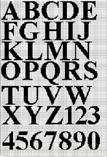 alphabet personalize