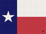 texas lone star flag crochet pattern graph afghan