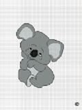 crochet afghan pattern koala bear