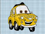 CARS DISNEY PIXAR LUIGI
