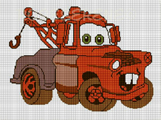 cars mater 1 crochet pattern