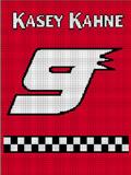 KASEY KAHNE #9 CROCHET PATTERN