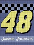 JIMMIE JIMMY JOHNSON 48 CROCHET PATTERN